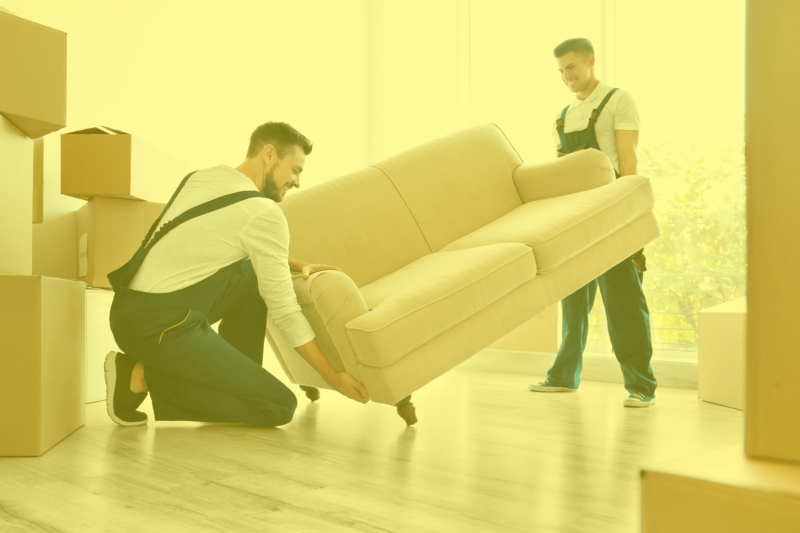 Furniture removal services by Junk Police