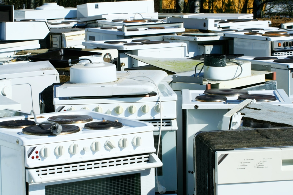 Appliance removal services in NJ by Junk Police